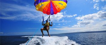 Parasailing St. Kitts
